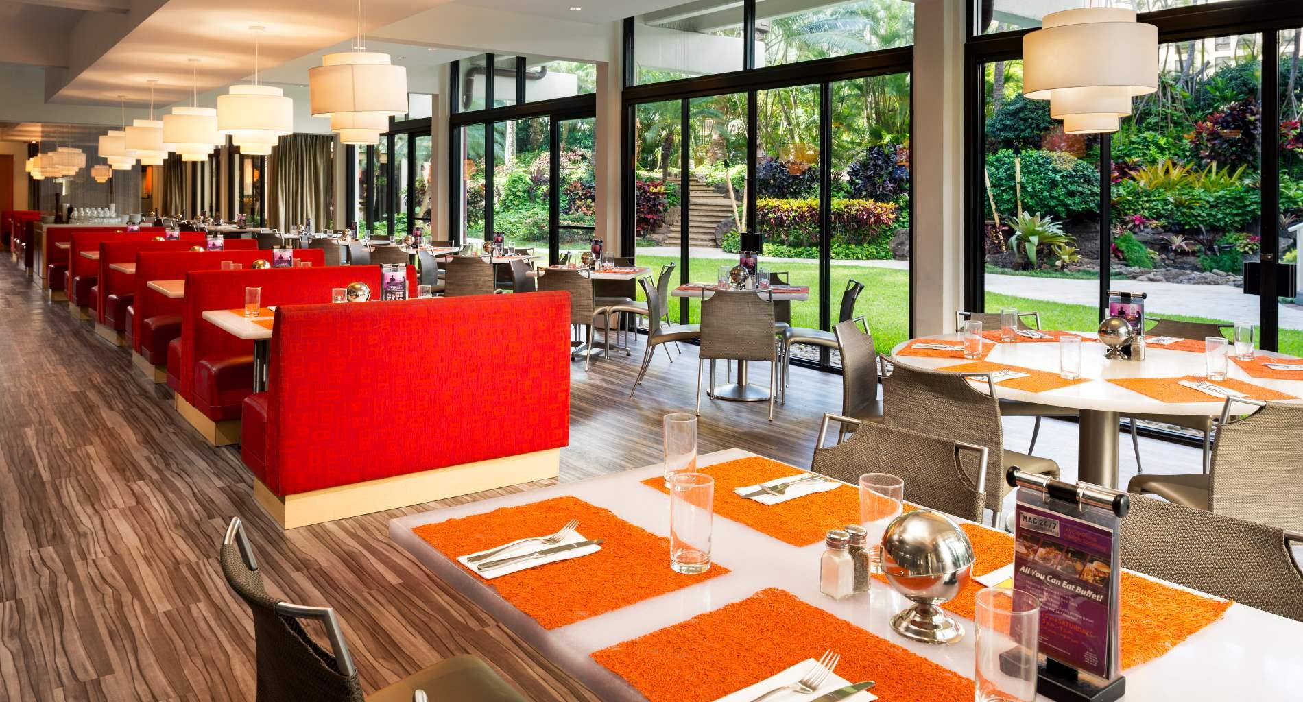 M.A.C. 24/7 Waikiki Dining area
