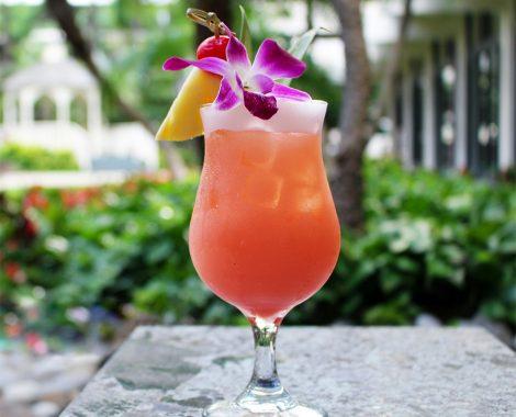 LBLE Lounge Menu - Beach Bum Cocktail