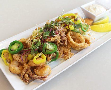 Crispy Shrimp and Calamari