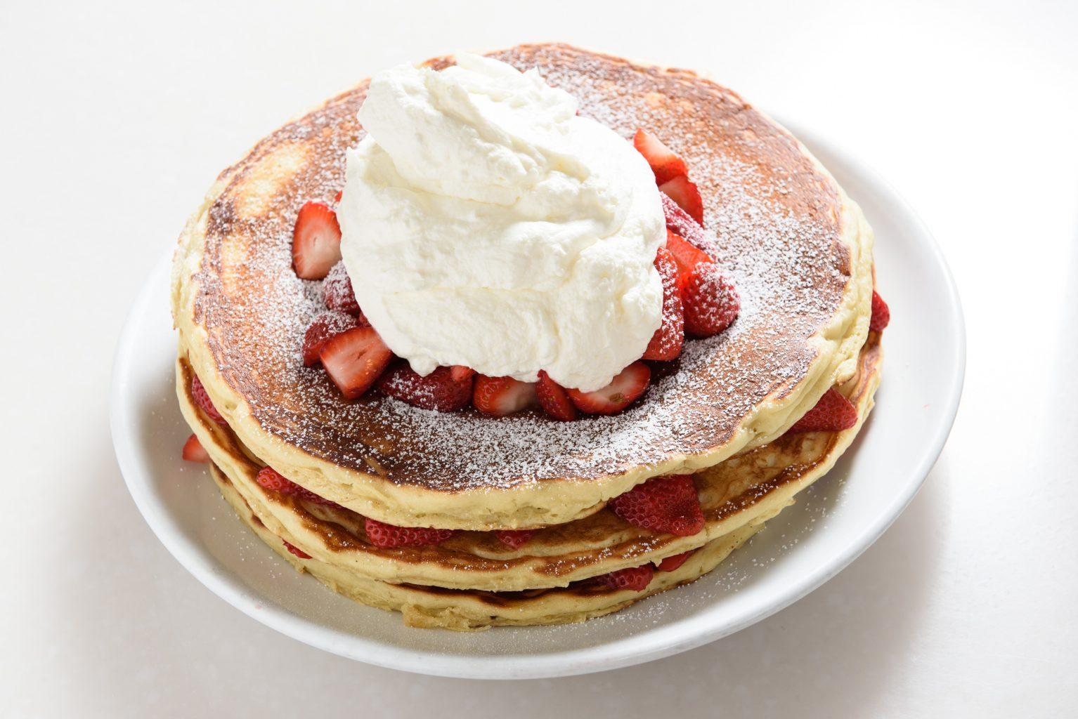 Kau Kau Pancake Strawberry