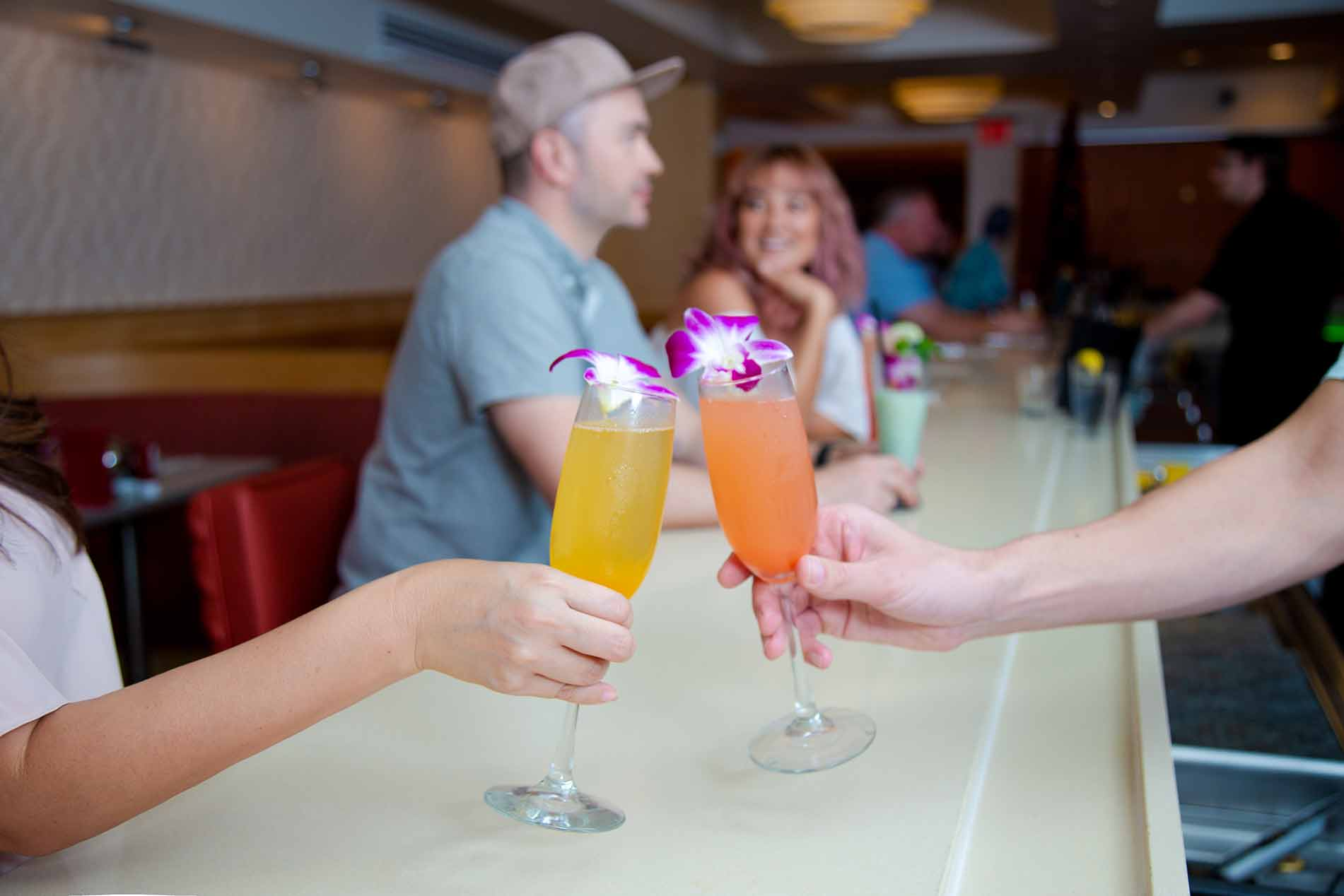 M.A.C. 24/7 Mimosa Brunch Happy Hour