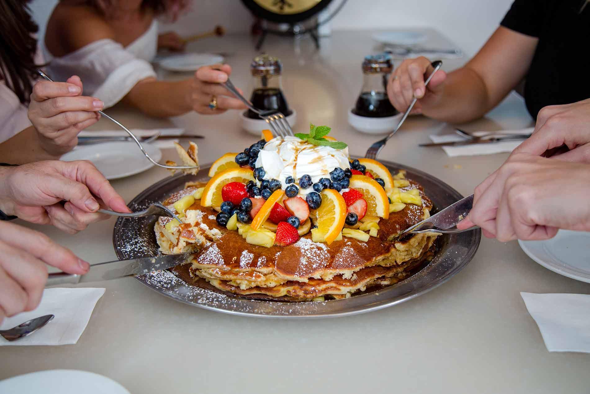M.A.C. Daddy Pancake Challenge