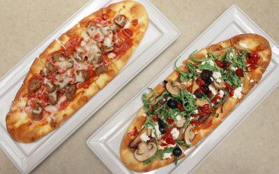 LBLE Lounge Menu - Flat Bread Pizzas
