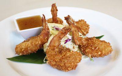 LBLE Lounge Menu - Jumbo Coconut Shrimp