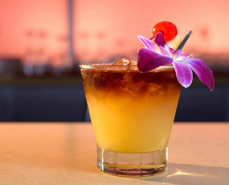LBLE Lounge Menu - Mai Tai Cocktail